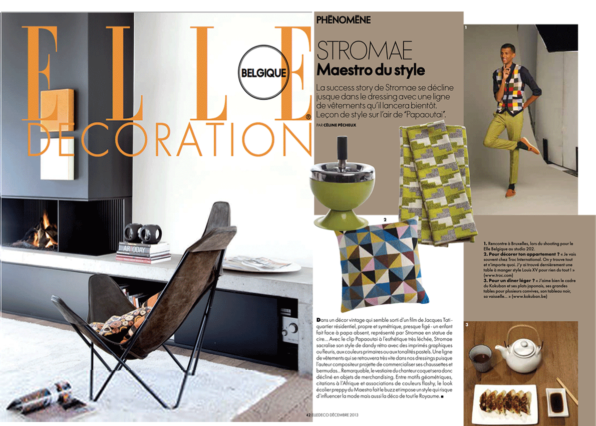 paris l 39 honneur dans le magazine elle decoration belgique. Black Bedroom Furniture Sets. Home Design Ideas