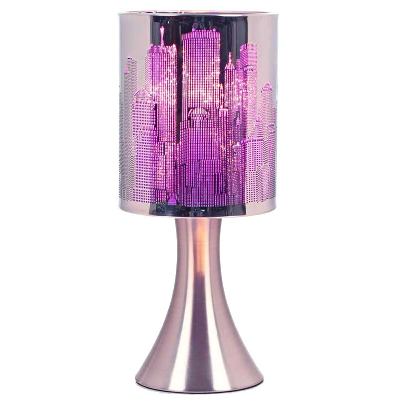 Le violet couleur tendance pour la d co d 39 int rieur de for Lampe de chevet london