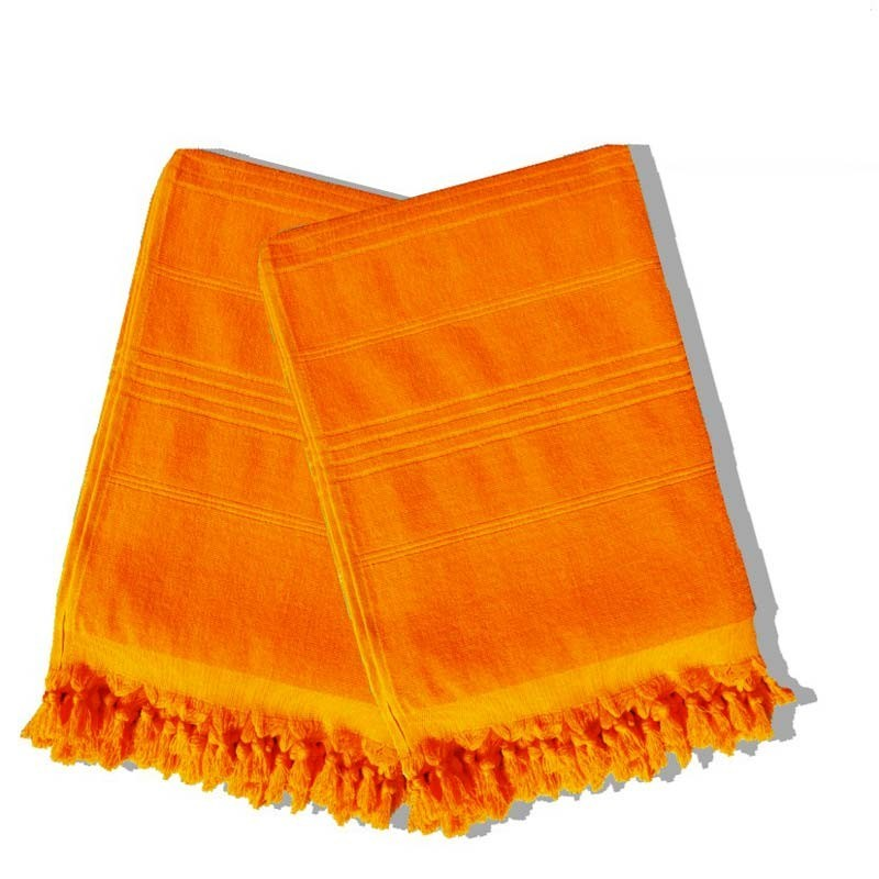 serviette-de-hammam-100x180cm-orange