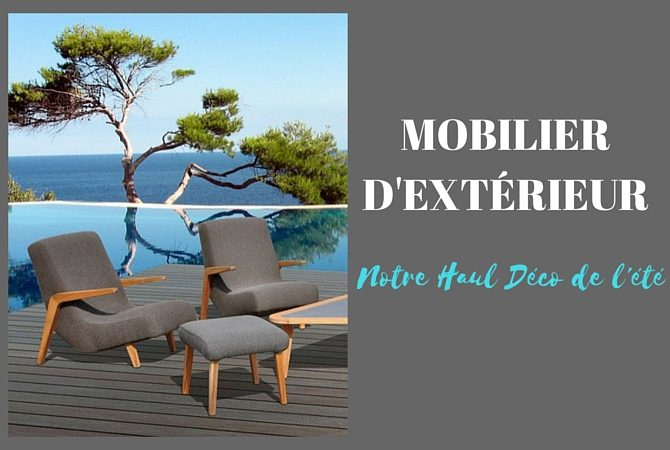 mobilier de jardin renouvelez vos meubles d ext rieur. Black Bedroom Furniture Sets. Home Design Ideas