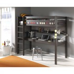 lit enfant superpose bureau gris