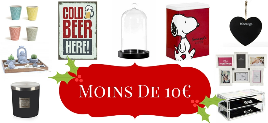 cadeau de noel moins de 10 euros moments de no l. Black Bedroom Furniture Sets. Home Design Ideas