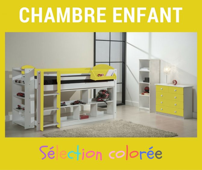 chambre enfant optez pour une chambre color e fille ou gar on. Black Bedroom Furniture Sets. Home Design Ideas