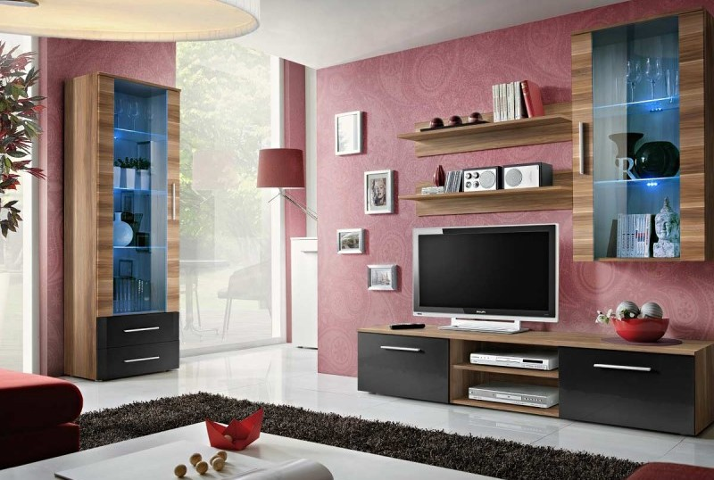 ensemble meuble tv mural design