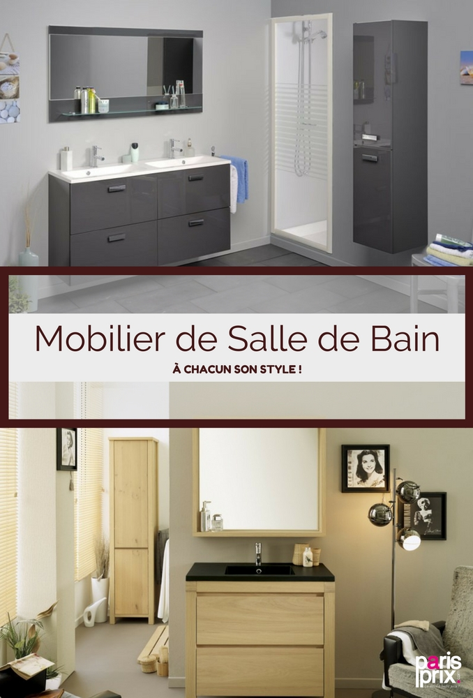 mobilier salle de bains id e inspirante. Black Bedroom Furniture Sets. Home Design Ideas